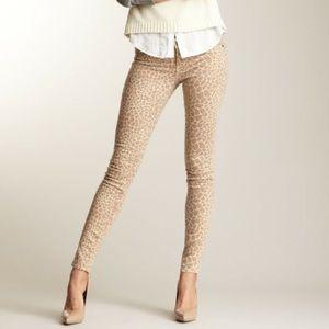 RICH & SKINNY Tan Giraffe Print Skinny Jeans